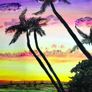 1_palmtree_sunset_acrylics2